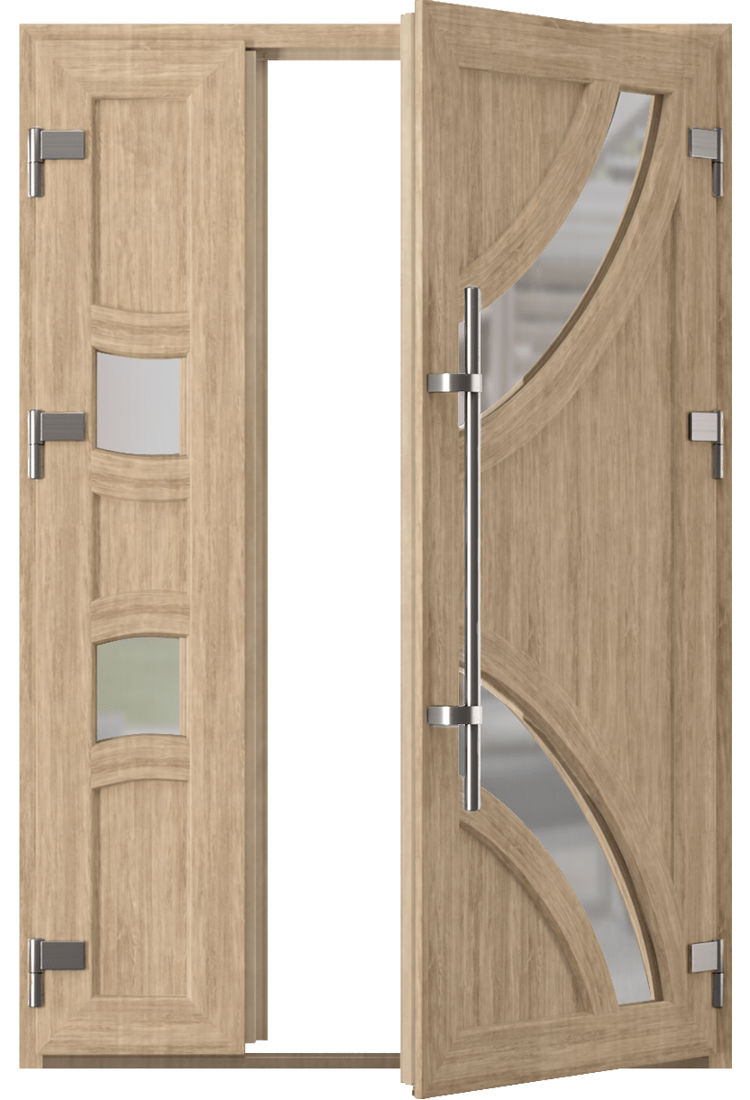 Вхідні двері Стандарт Plus-фото