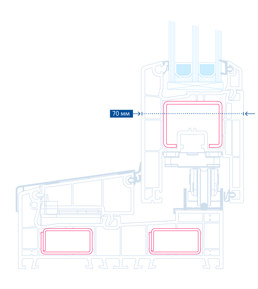 схема розсувної системи Smart Slide