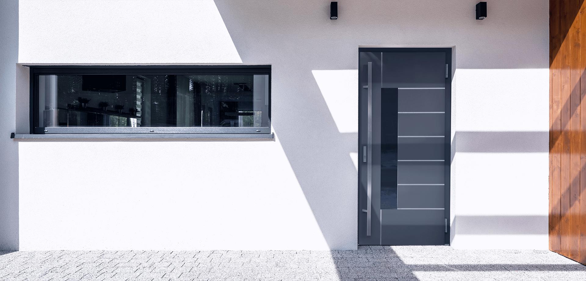 фото Двері з HPL панелями
