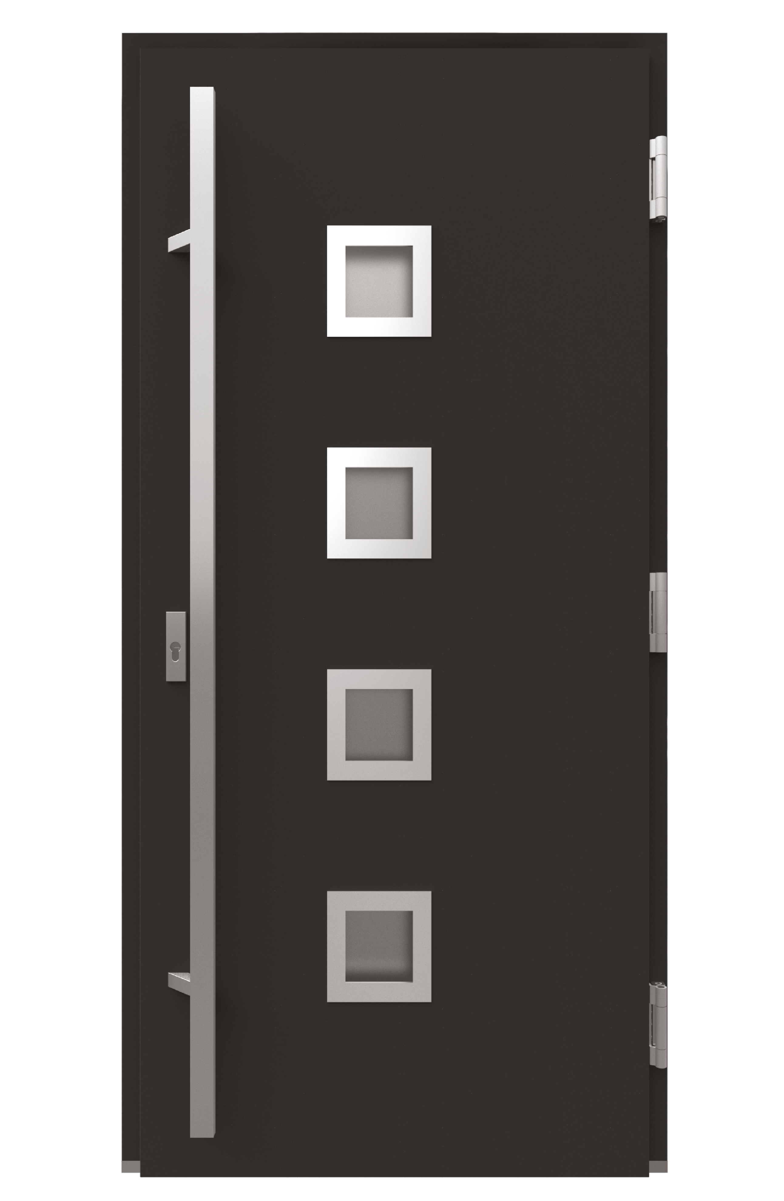 Двері з HPL-заповненням-фото