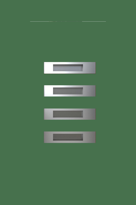 Двері з HPL панелями модель горизонталь