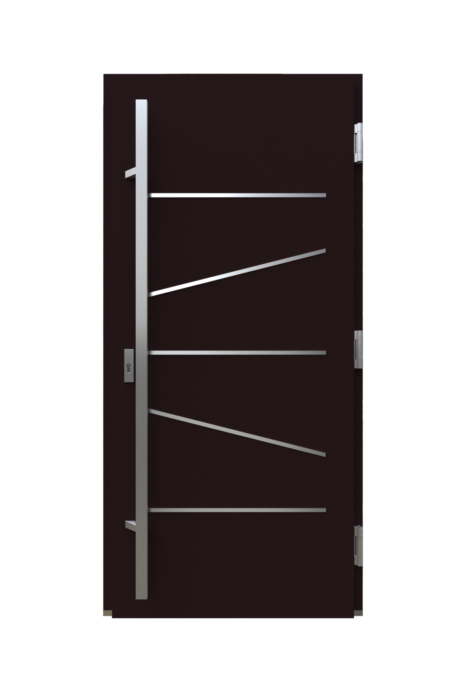Двері з HPL панелями модель лінії