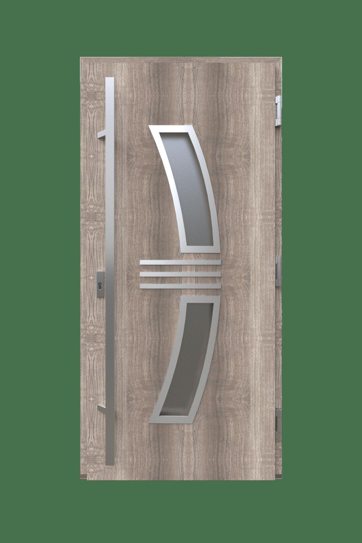 Двері з HPL панелями модель радіус