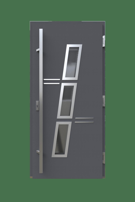 Двері з HPL панелями модель вертикаль