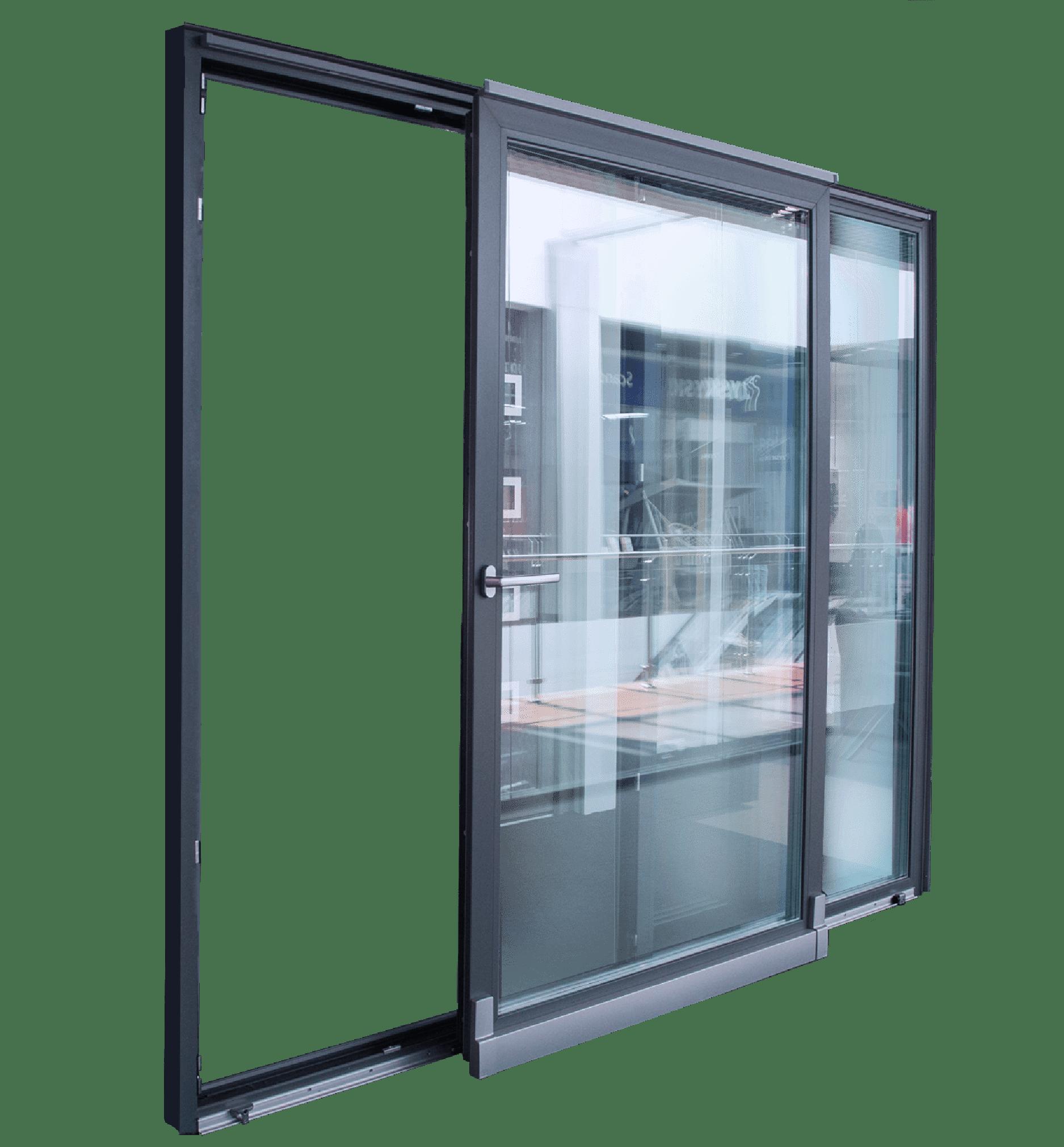 Розсувні двері duoPort-фото