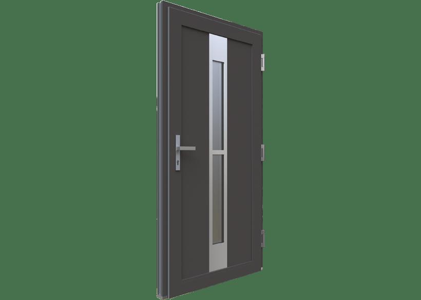 двері для котеджу у скандинавському стилі