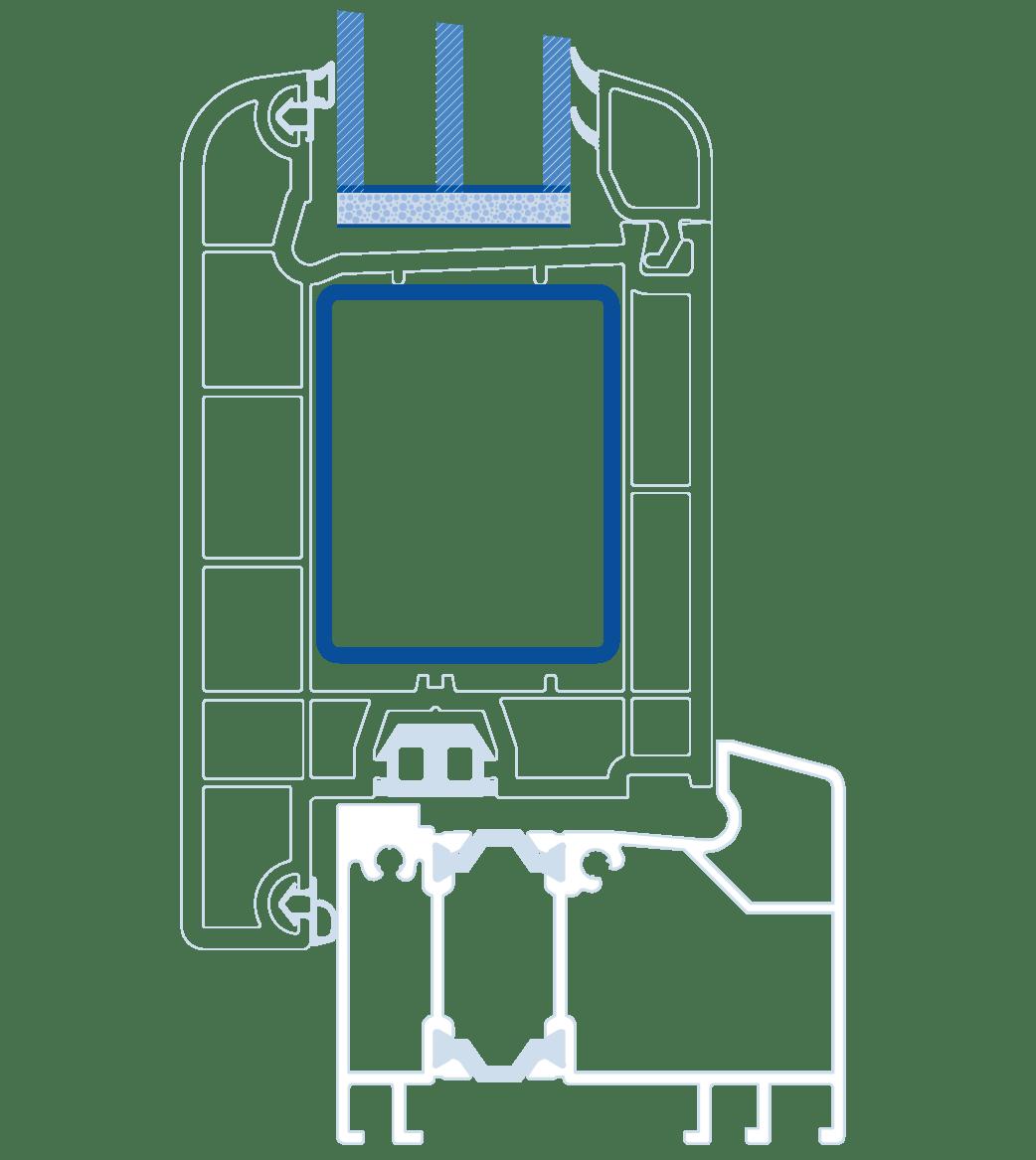 схема дверей Віконда Термо
